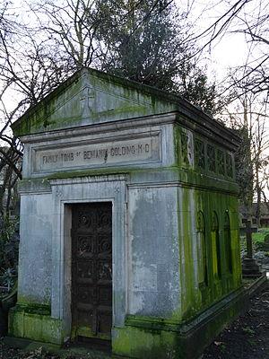 Benjamin Golding - Benjamin Golding's tomb, Brompton Cemetery