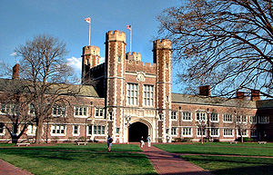 Brookings Hall, an icon of Washington Universi...
