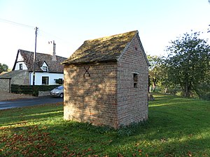 Broughton, Cambridgeshire - The old jail at Broughton