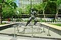 Bruce Lee Statue at Avenue of Stars, HongKong (Ank Kumar, Infosys) 01.jpg