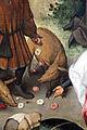 Bruegel il vecchio, proverbi fiamminghi, 1559, 23 dar le rose ai porci.JPG