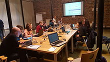 Wikidata editing session for institutions