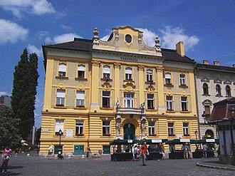 Óbuda - Obuda town hall in Budapest