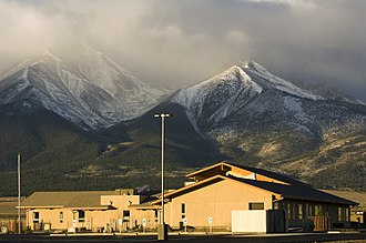 Colorado Mountain College - Aerial view of the CMC Buena Vista campus