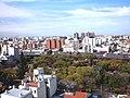 """Buenos Aires - Plaza """"Martín Fierro"""" y Autopista 25 de Mayo - panoramio.jpg"""