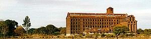 Molinos Río de la Plata - The former Molinos mill and silos in the Puerto Madero ward of Buenos Aires, converted into the upscale Faena Hotel+Universe in 2004