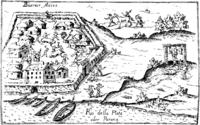 Buenos Aires al fundarse en 1536