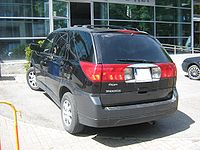 Buick Rendezvous rear - before exhibition TTM 2009.jpg