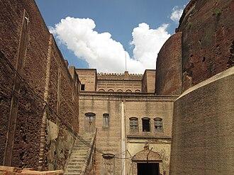 Medieval Times - Image: Building bhatinda fort