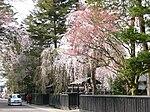 Bukeyashiki Street in Kakunodate 20060506.jpg