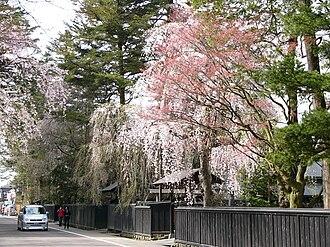 Semboku, Akita - Image: Bukeyashiki Street in Kakunodate 20060506