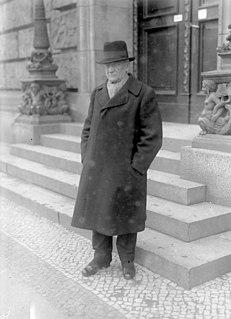 Georg Ledebour German politician and journalist