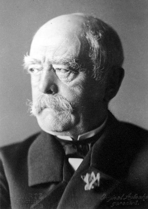 Bundesarchiv Bild 146-2005-0057, Otto von Bismarck (cropped)