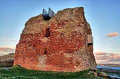 Burg aus dem Jahr 1313
