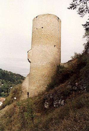 Loch Castle (Eichhofen) - Image: Burg Loch 01