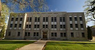 Burleigh County, North Dakota - Image: Burleigh County Courthouse