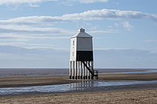 Burnham on Sea Low Lighthouse.