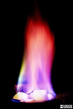 Burning methane hydrate.jpg