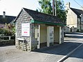 Bus shelter at Hullavington - geograph.org.uk - 870219.jpg