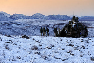 Urozgan Province - Soldiers from Australia's Special Operations Task Group (SOTG) in December 2009.
