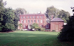 Bushy House - East side of Bushy House in 1992