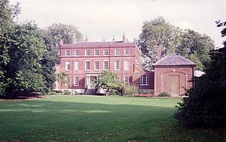 former royal residence in Teddington in South West London