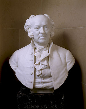 United States Senate Vice Presidential Bust Collection - Image: Bust John Adams