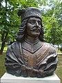 Bust of Francis II Rákóczi by Mihály Pál Jr., 2005 in Gyömrő, Hungary.jpg