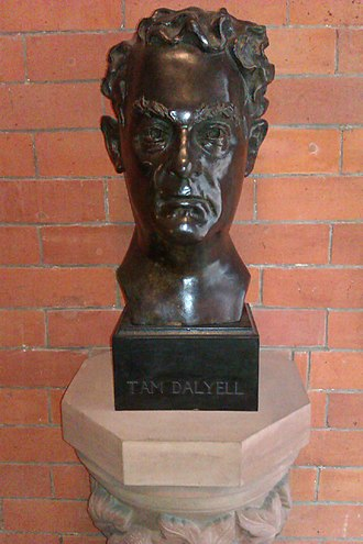 Tam Dalyell - Bust of Tam Dalyell