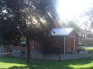 History of Markham, Ontario - The Buttonville Women's Institute Community Hall. Opened in 1940.
