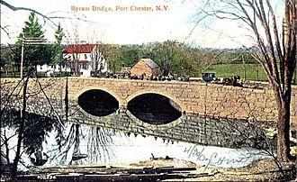 Byram River - In 1906