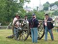 C&O Canal NHP Cannon prep (7705903916).jpg