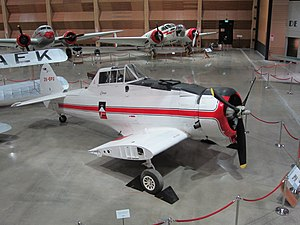 CAC Ceres - A Ceres on display at MOTAT in Auckland