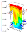 CFD Boiler furnace NO mole fraction.png