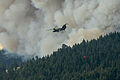 CH-47 Chinook fighting wildfires in Oregon (9572336082).jpg