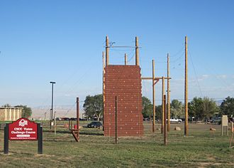 Colorado Northwestern Community College - Ropes course at CNCC, Rangely Campus