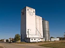 Grain Elevator in Butte
