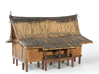 Sundanese traditional house - A model of Sundanese traditional house