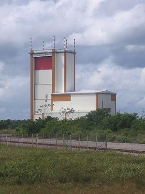 Guiana Space Centre - The final assembly building for Ariane 5