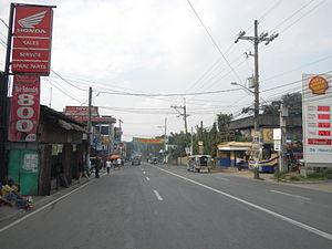Quirino Highway - Quirino Highway at Tungkong Manga, San Jose del Monte