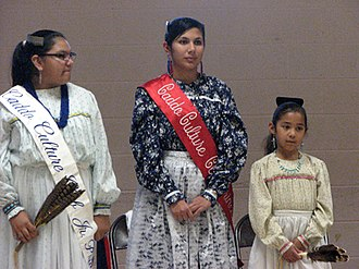 Native American identity in the United States - Caddo members of the Caddo Cultural Club, Binger, Oklahoma, 2008