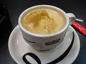 Café con leche - Café con leche from Asturias, Spain
