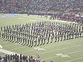 Cal Band performing pregame at 2008 Big Game 12.JPG