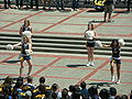 Cal Dance Team at Cal Day 2010 spirit rally 4.JPG