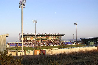 Inverness Caledonian Thistle F.C. - Tulloch Caledonian Stadium.