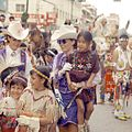 Calgary Stampede Queens and First Nations children (28324782455).jpg