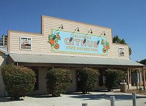 California Citrus State Historic Park - The California Citrus State Historic Park visitor center