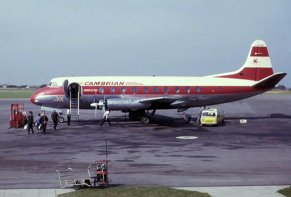 Cambrian viscount g-amon in 1963 arp