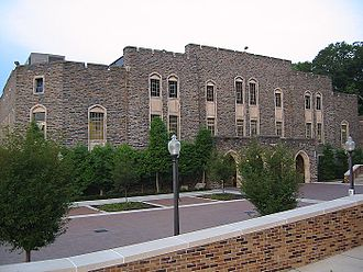 Cameron Indoor Stadium - North end in July 2002
