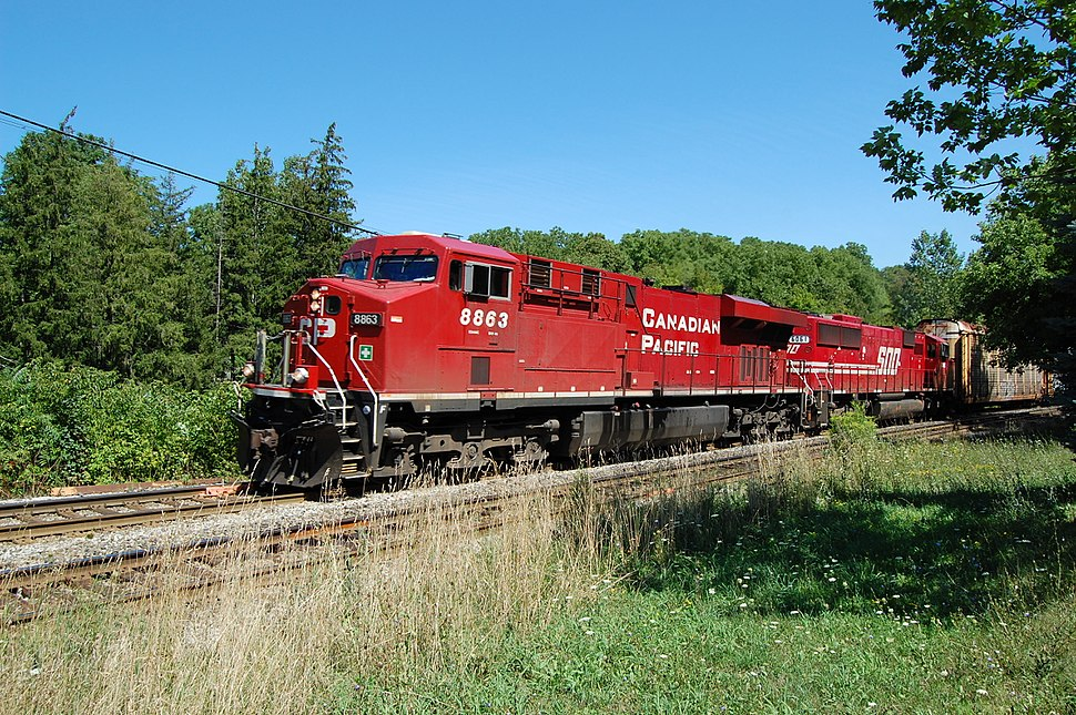Campbellville ON GE-ES44AC CP-8863 2011-08-23